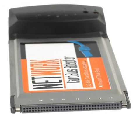 Προσαρμογέας Δικτύου Ethernet LAN RJ45 σε PCMCIA 10/100M (19039)