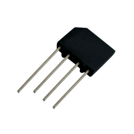 Bridge rectifier  2A/1000V   KBP10