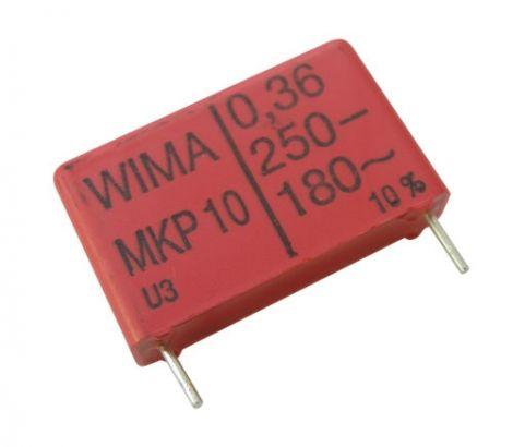 Impuls capacitor  360N/250V  RM 22,5mm