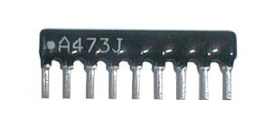 Resistor network   47Kx8 RR A