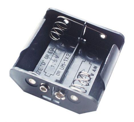 Battery case R20x2