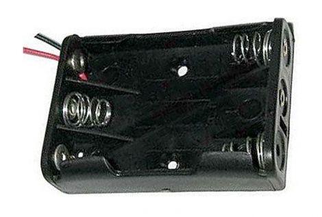 Battery case  R03x3  - 15cm