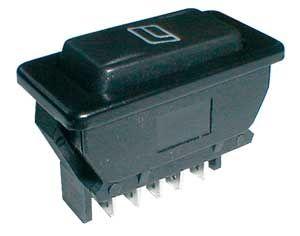 Rocker switch (car)  20A/12VDC (lighting)