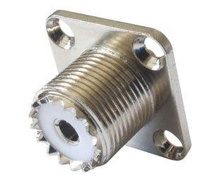 UHF plug contact (panel, holding screws)