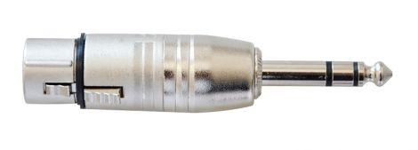 Reduction XLR F - JACK 6.3 mm VALUELINE XLR-3FJPS