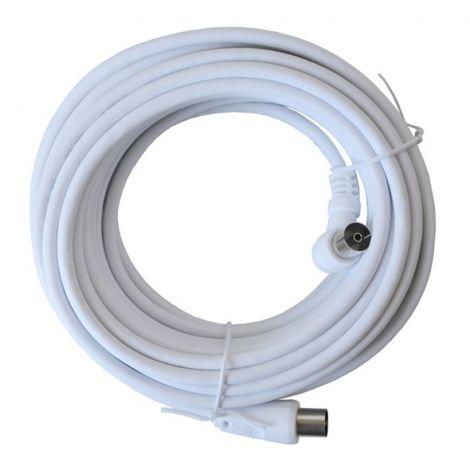 Geti antenna cable 15m (White)