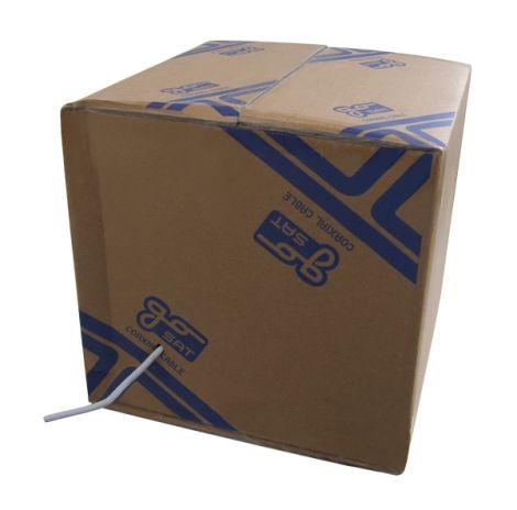 Coaxial cable  RG6U GoSAT    305m BOX