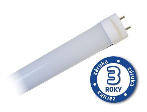 LED T8 linear fluorescent lamp, 18W, 4000-4500K, 120cm, lactic + starter