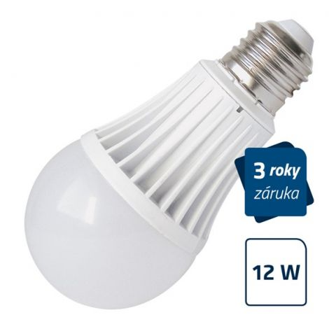LED Bulb Geti A60, E27, 12W, warm white