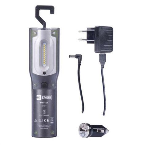 Rechargable LED Lantern P4522, 5W SMD LED + UV LED