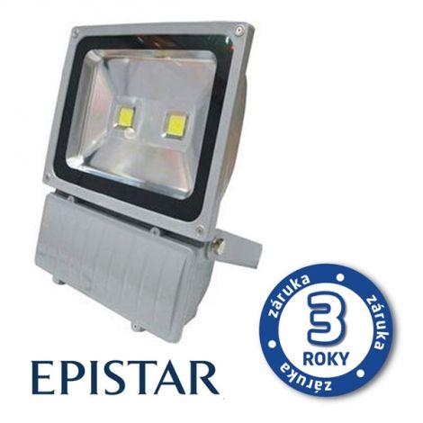 LED outdoor spotlight 100W / 8000Lm EPISTAR, MCOB, AC 230V, cold, gray
