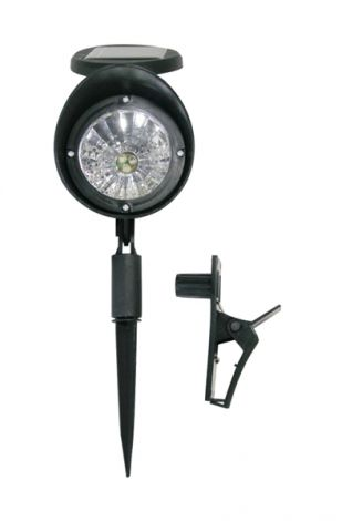 Solar spotlight IP44, 3 LED