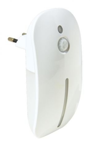 LED night light with motion and light sensor