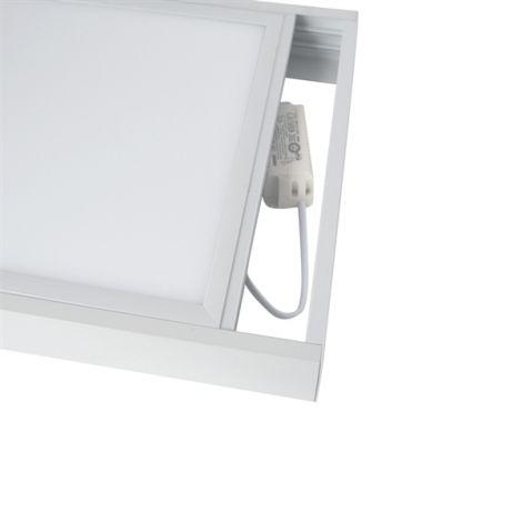 Frame for LED panels 30x30cm, white