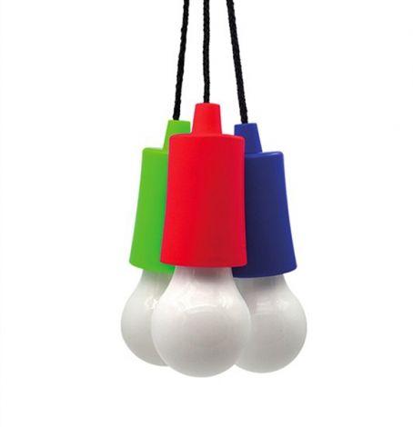 LED Flashlight - bulb, 1W, 50lm, 2 x AAA