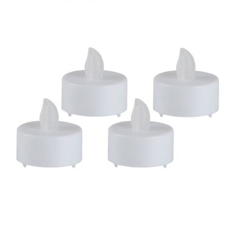 Tealight candle 4pcs + batteries