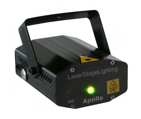 Beamz Apollo Multipoint color laser 170 mW RG red / green Laser