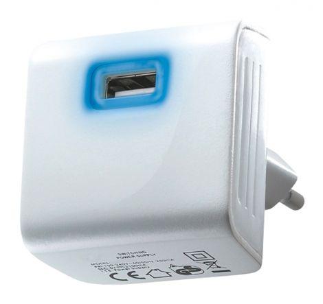 USB adaptor 5V/2400mA white DC08