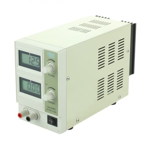 Laboratory power supply TIPA  QJ1502C  0-15V/ 0-2A