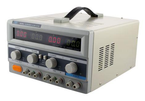 Laboratory power supply TIPA QJ3003EIII  2x0-30V/ 0-3A+ (5V-3A)