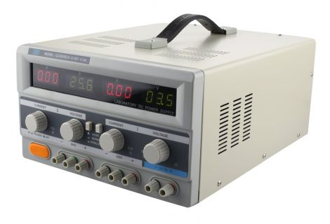Laboratory power supply TIPA QJ3005EIII  2x0-30V/ 0-5A+ (5V-3A)