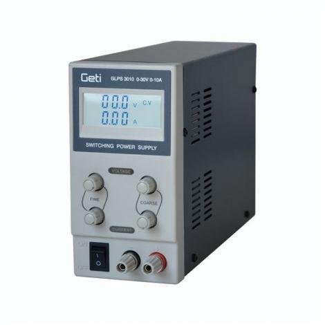 Laboratory power supply Geti GLPS 3010 0-30V/ 0-10A