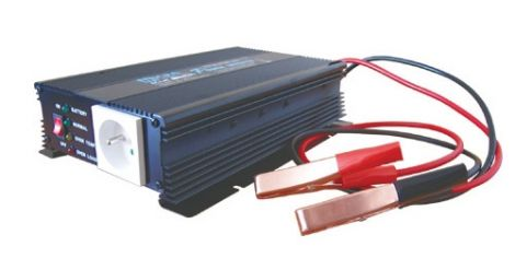 Power inverter 12V/230V  600W CZ +battery charger max.3A
