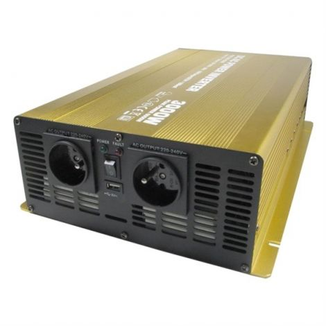 Soluowill NP3000-24 Power Inverter 24V / 230V 3000W CZ