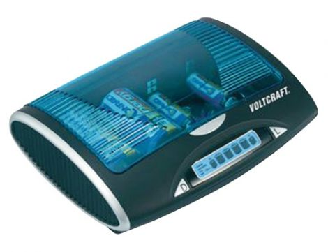 Battery Charger universal Voltcraft P-600 LCD