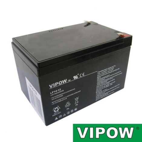 Lead-acid battery 12V 14Ah VIPOW