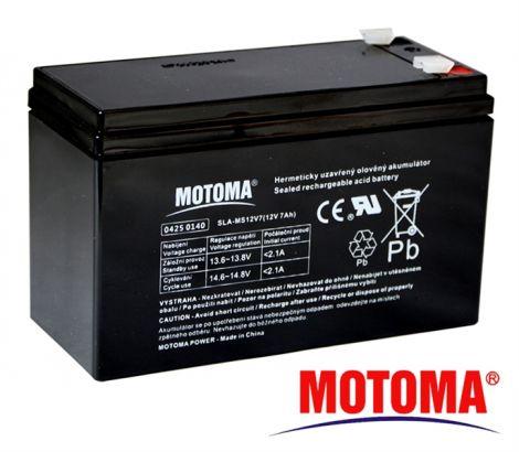 SLA AGM battery  12V/ 7Ah  MOTOMA