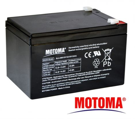 SLA AGM battery  12V/12Ah  MOTOMA