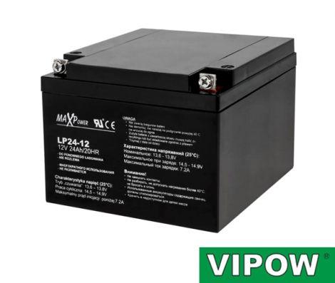 VIPOW Lead-acid battery 12V/24Ah VIPOW