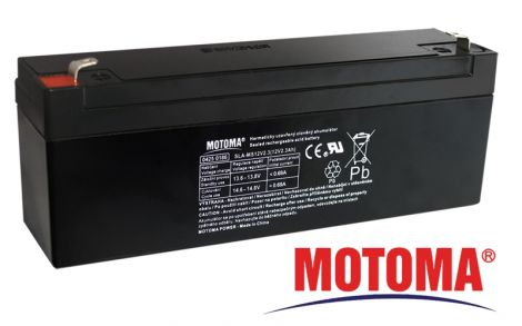 SLA AGM battery  12V/ 2,3Ah  MOTOMA