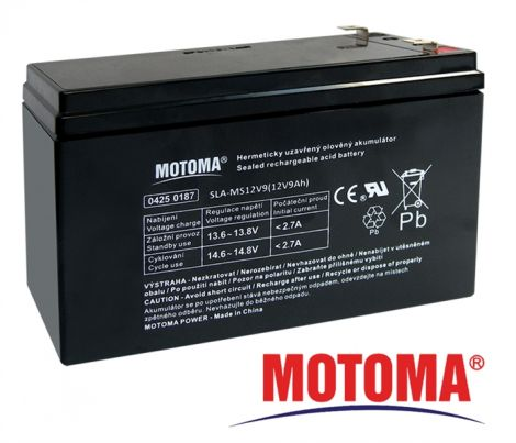 SLA AGM battery  12V/ 9Ah  MOTOMA