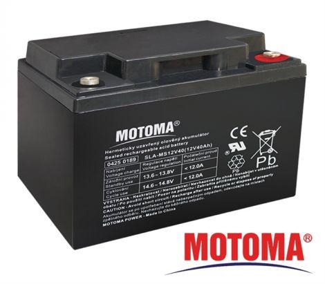 MOTOMA SLA AGM battery 12V/40Ah MOTOMA