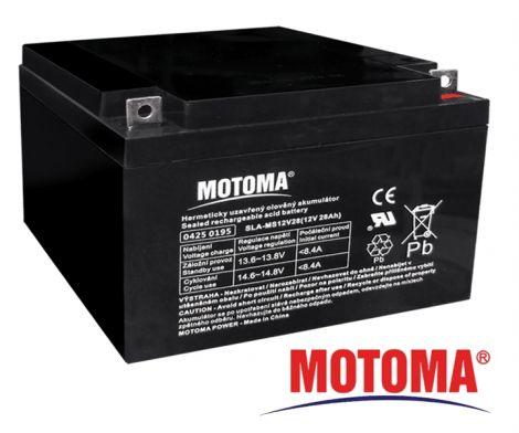 SLA AGM battery  12V/28Ah  MOTOMA