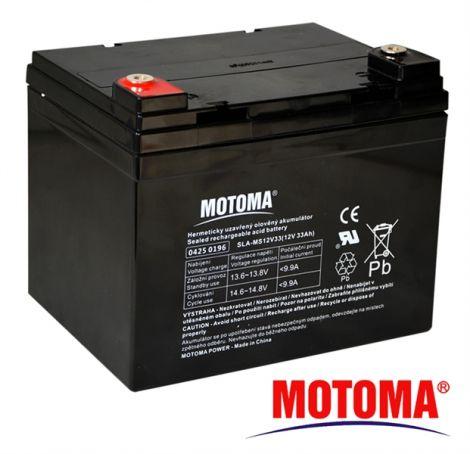 SLA AGM battery  12V/33Ah  MOTOMA