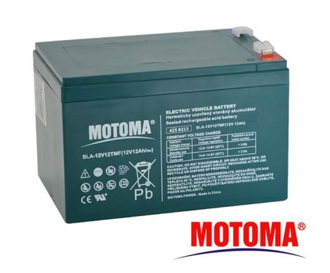 SLA TRACTION battery 12V/12Ah - MOTOMA