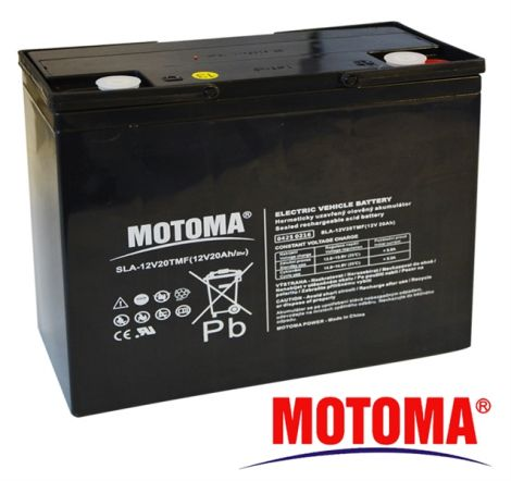 SLA TRACTION battery 12V/20Ah - MOTOMA