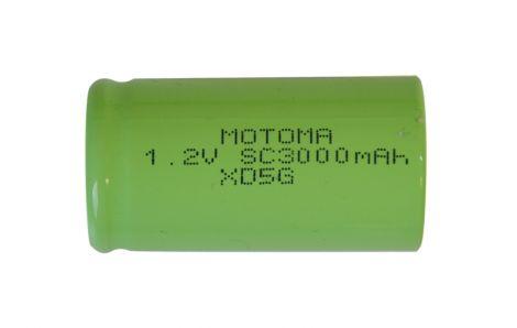 Rechargeable NiMH SC 1,2V/3000mAh MOTOMA