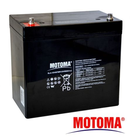 SLA TRACTION battery 12V/55Ah - MOTOMA
