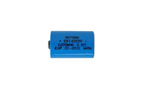Lithium Battery 14250 3.6V, 1200mAh MOTOMA
