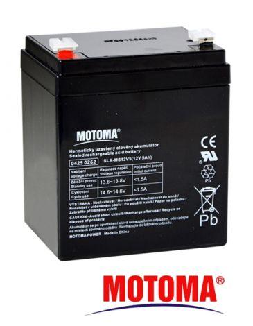 SLA AGM battery  12V/ 5Ah  MOTOMA