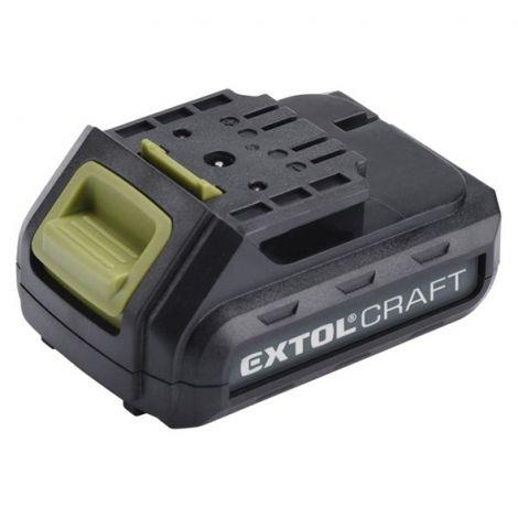 Battery pack 12V, Li-ion, 1300mAh, EXTOL CRAFT