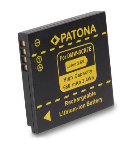PANASONIC Battery photo PANASONIC DMW-BCK7E 680mAh PATONA PT1091