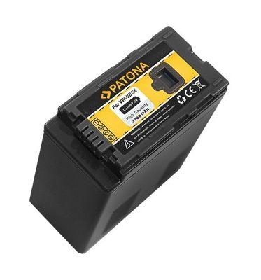 PANASONIC Battery photo PANASONIC VW-VBG6 3900mAh PATONA PT1120