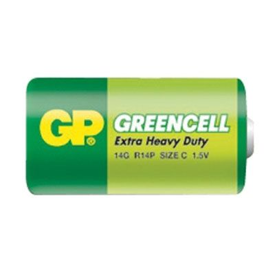 Battery C (R14)  greencell  GP