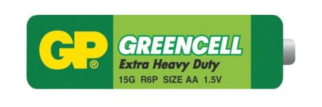 Battery AA (R6)  Greencell GP