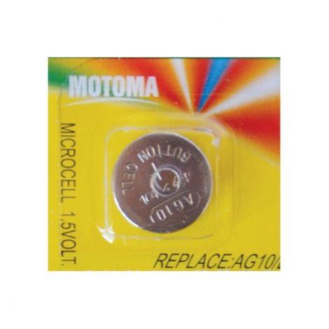 Battery     AG10 (LR54) MOTOMA alkaline
